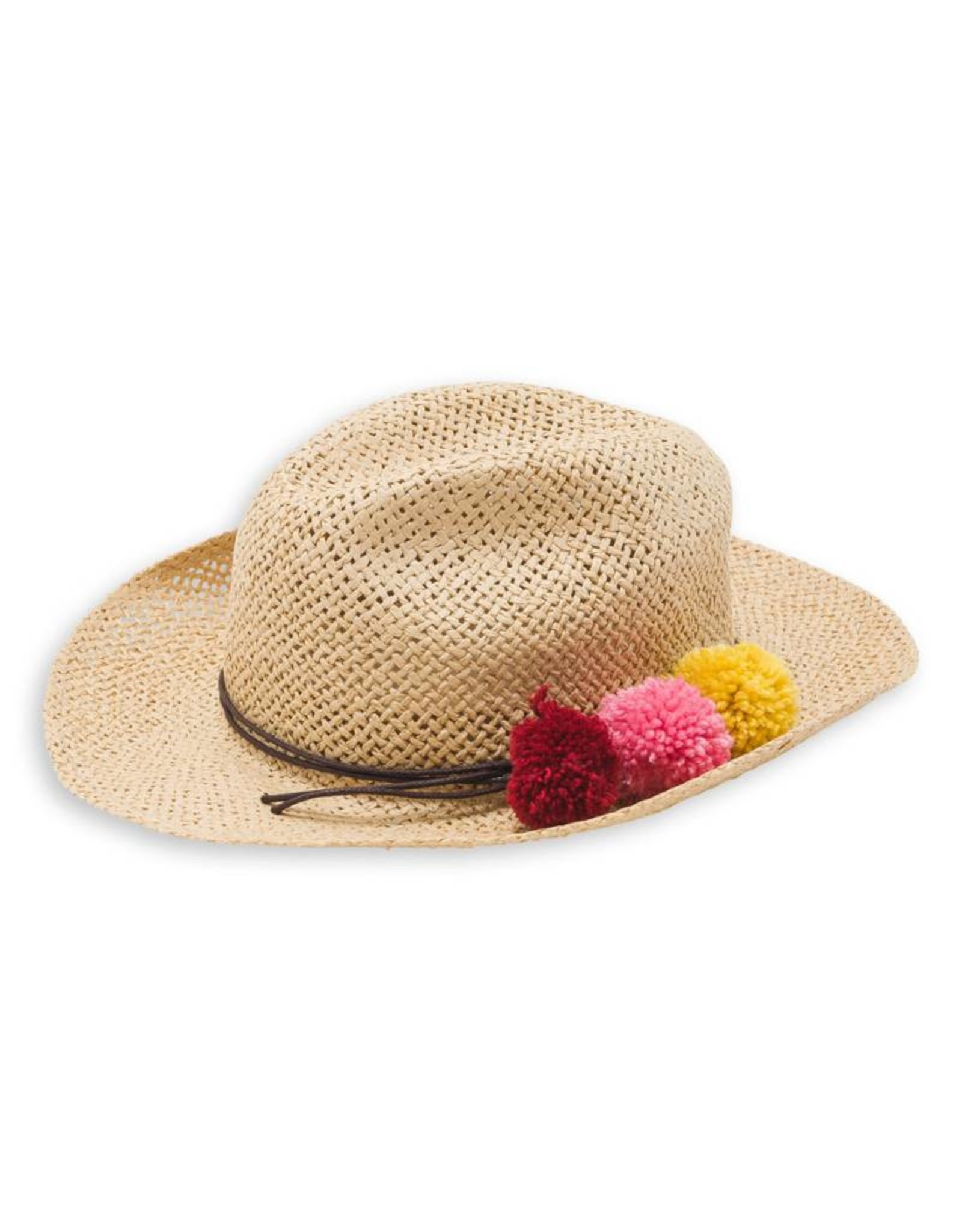 Pompon hat