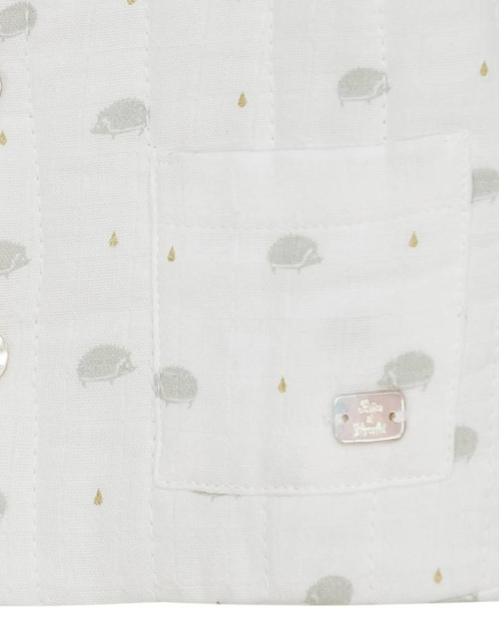 Tartine et Chocolat Jacket, hedgehogs print