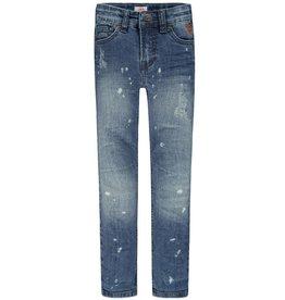 Jeans Finley, moyennement délavé