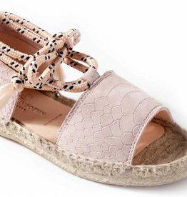 Maison Mangostan Nubuck sandals