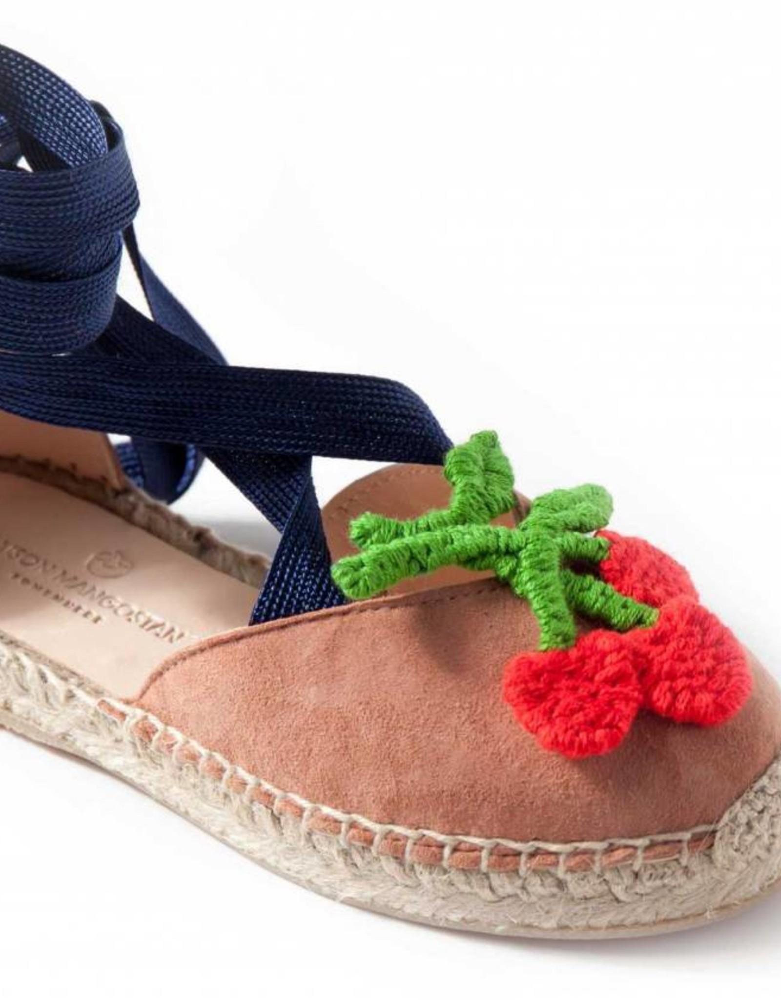 Macedonia cherry sandals