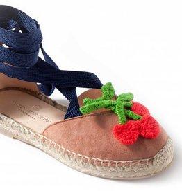 Sandales Macedonia cerise