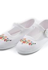 Bonton Chaussons brodés pour bébés