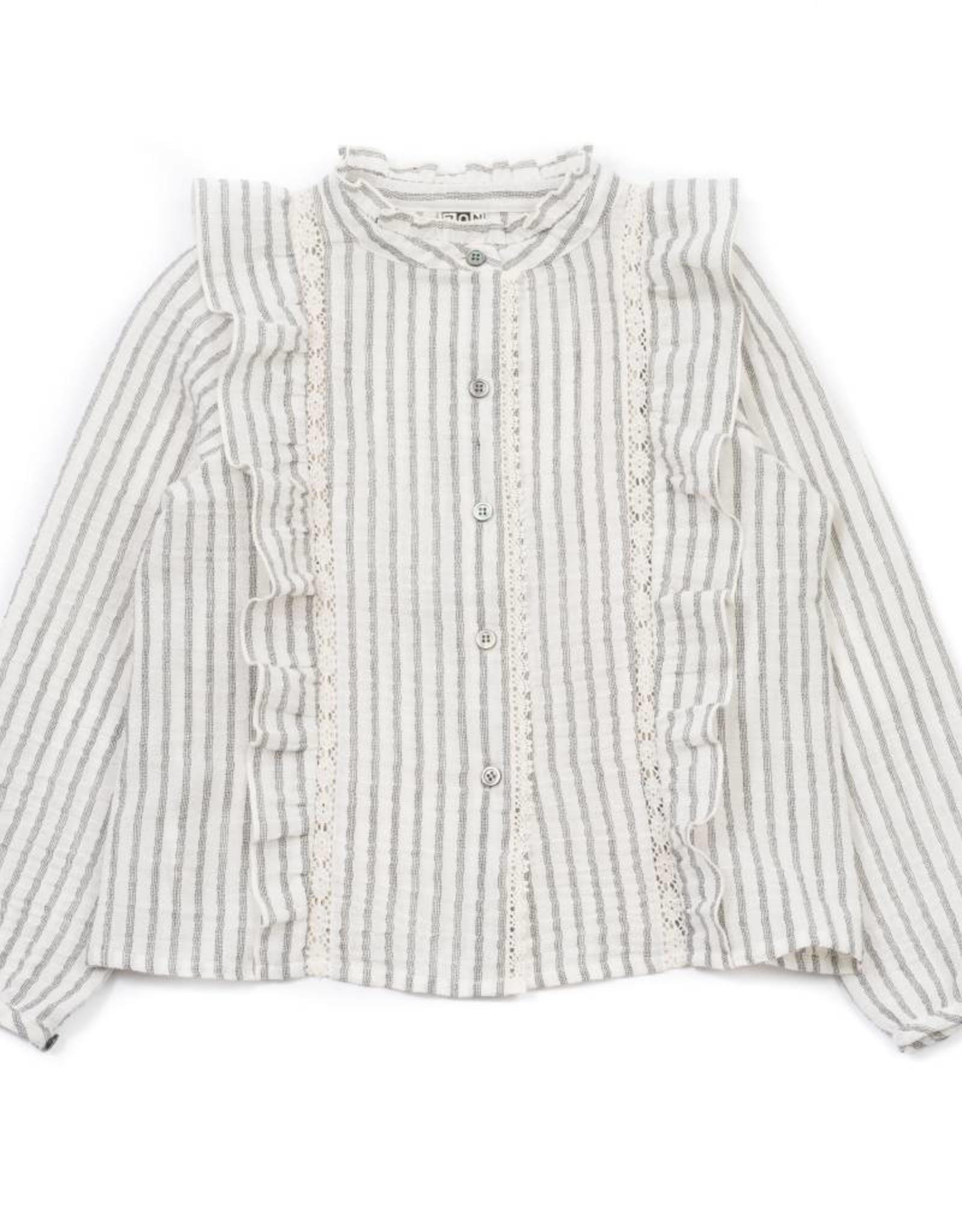 Bonton Napolita tunic, with stripes