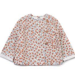 Milan jacket, flowers print