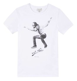 Skateboarding monkey t-shirt