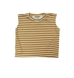 Muscle Tee, golden stripes