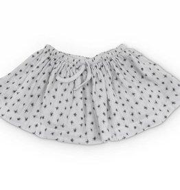Boo baby pantie skirt, stars print