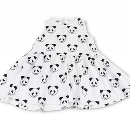 Billy sleeveless dress, pandas print