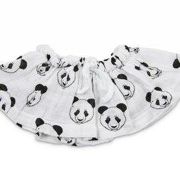 Boo baby pantie skirt, pandas print