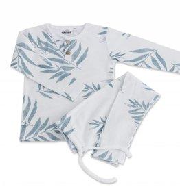 Pyjama 2 pièces Ours, imprimé feuilles de palmier