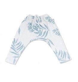 Opa harem pants, palm leaves print