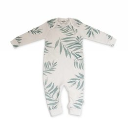 Bobo footless pajamas, palm leaves print