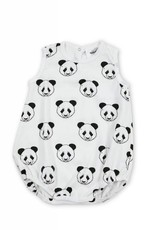 Barboteuse pour bébés Baba, imprimé pandas