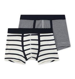 Set of 2 Boys Striped Boxers