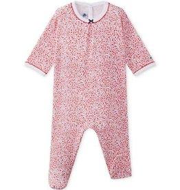 Pyjama bébé fille Mignon, à imprimé fleuri