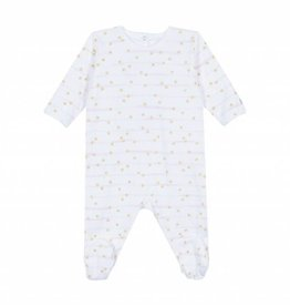 Pyjama bébé fille rayé Micro