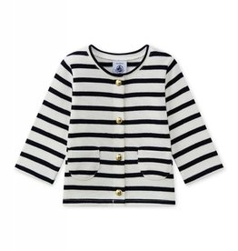 Baby Girl Striped Malissa Cardigan