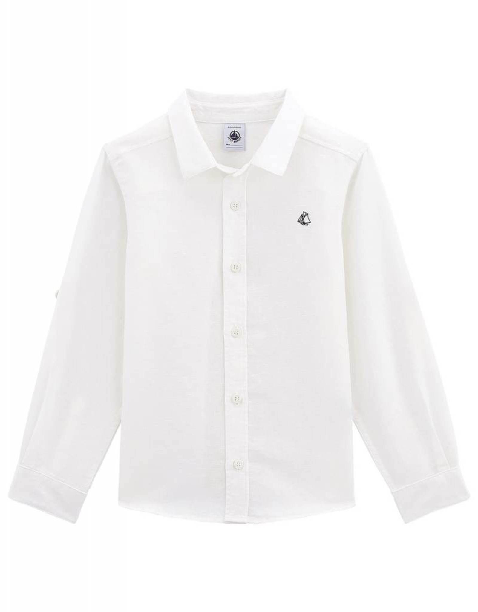 Boys Martino shirt in linen