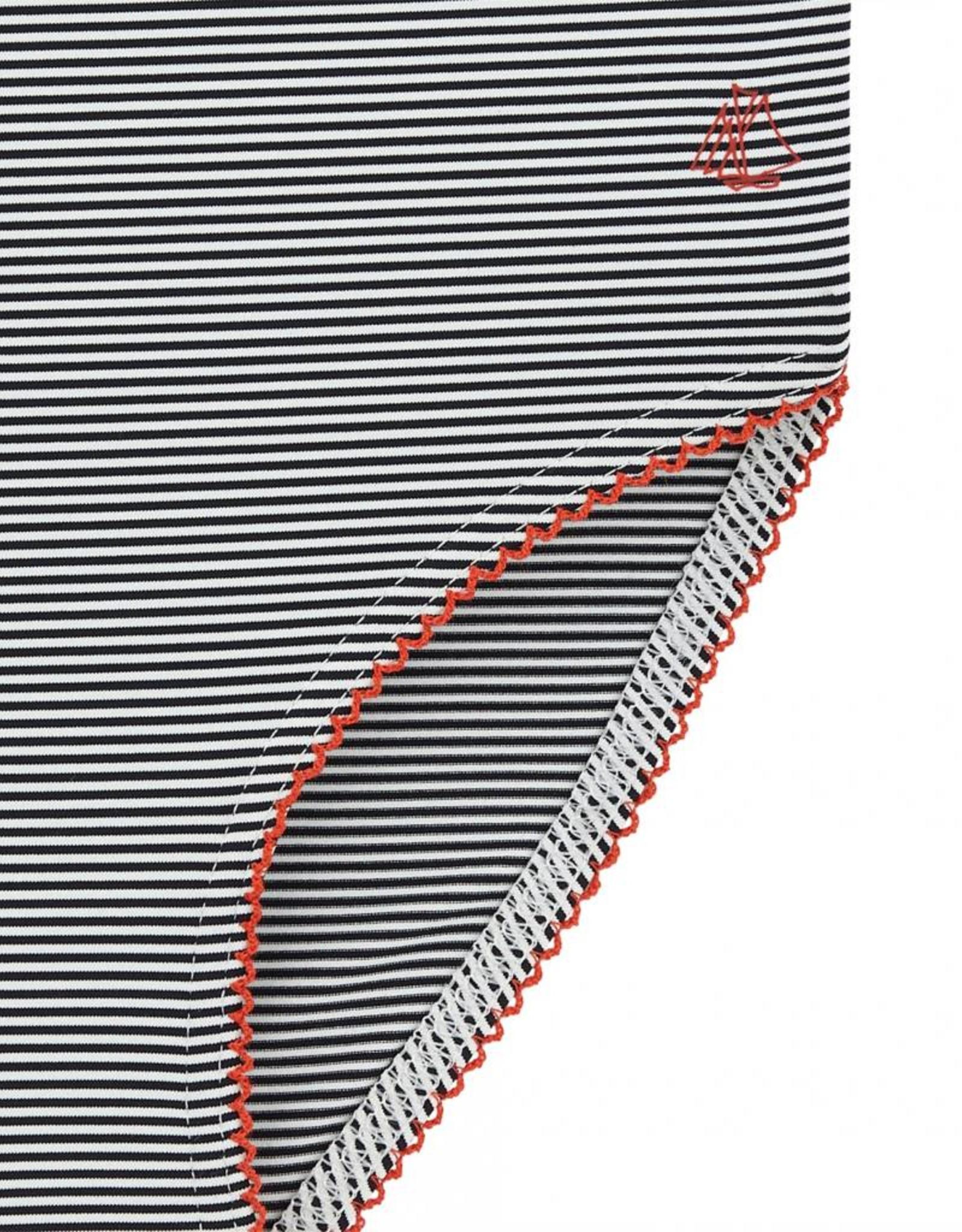Petit Bateau Girls Striped Swimsuit