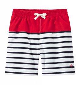 Boys Striped Swim Shorts