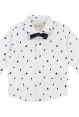 Baby shirt and bow tie, octopus print