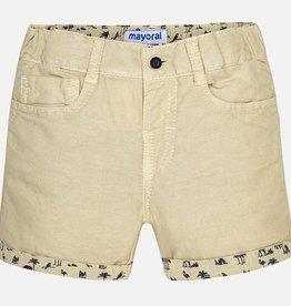 Mayoral Linen Shorts