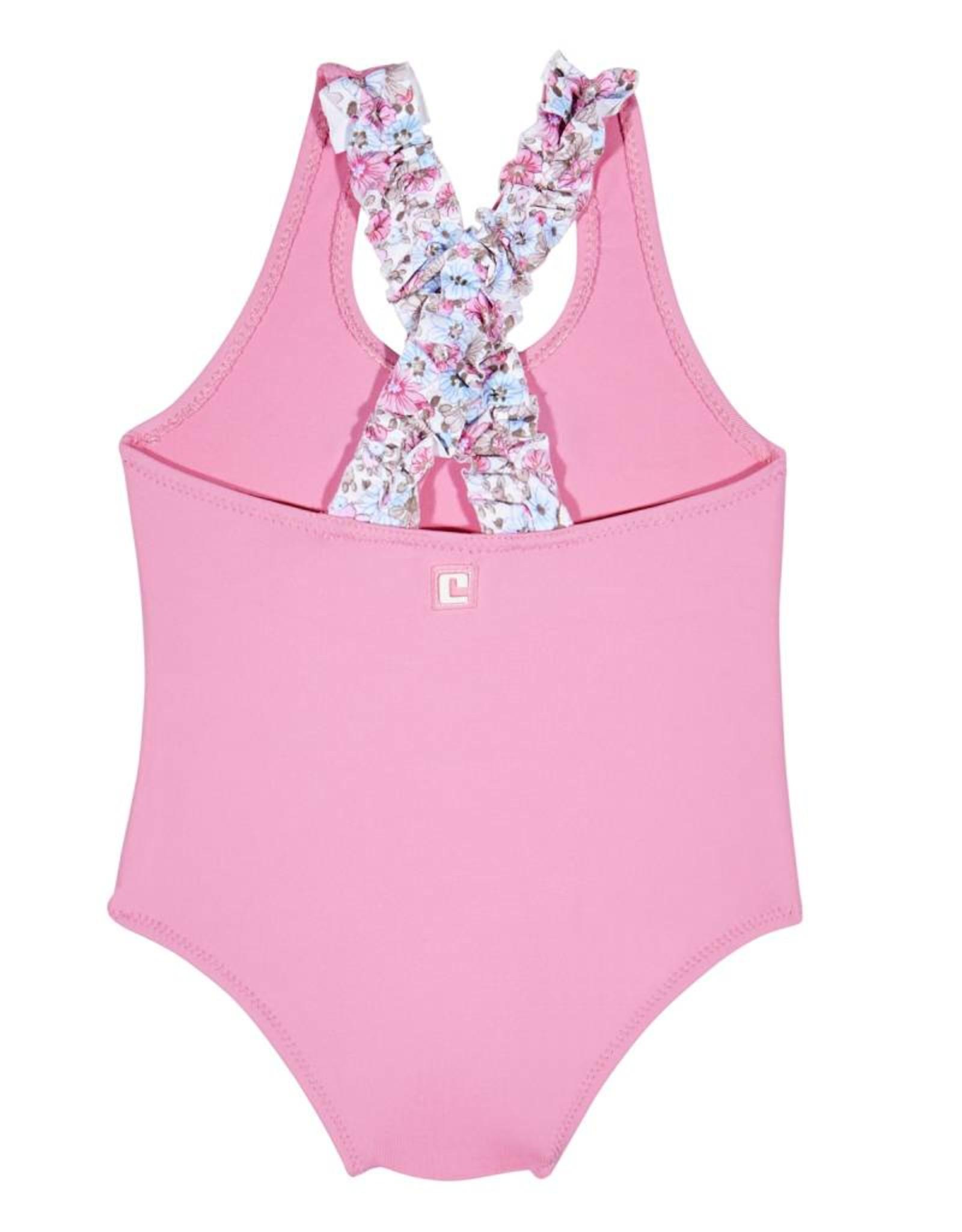 Condor Swimsuit, flower bow