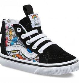 SK8-Hi Zip sneakers, unicorn print