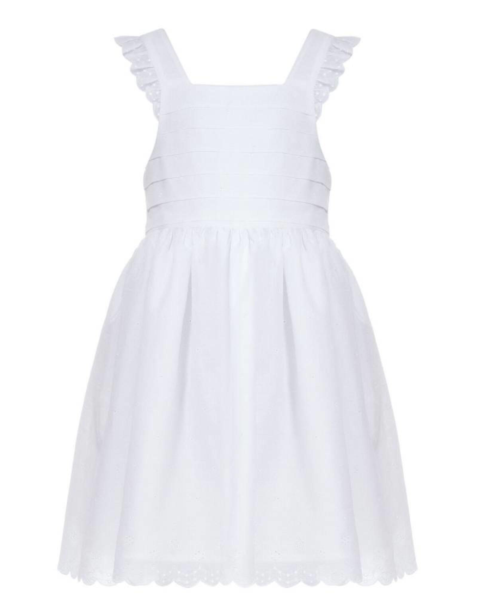 Crossed straps dress