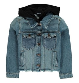 Alice hooded denim jacket