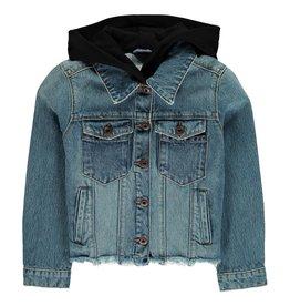 Manteau jeans à capuche Alice