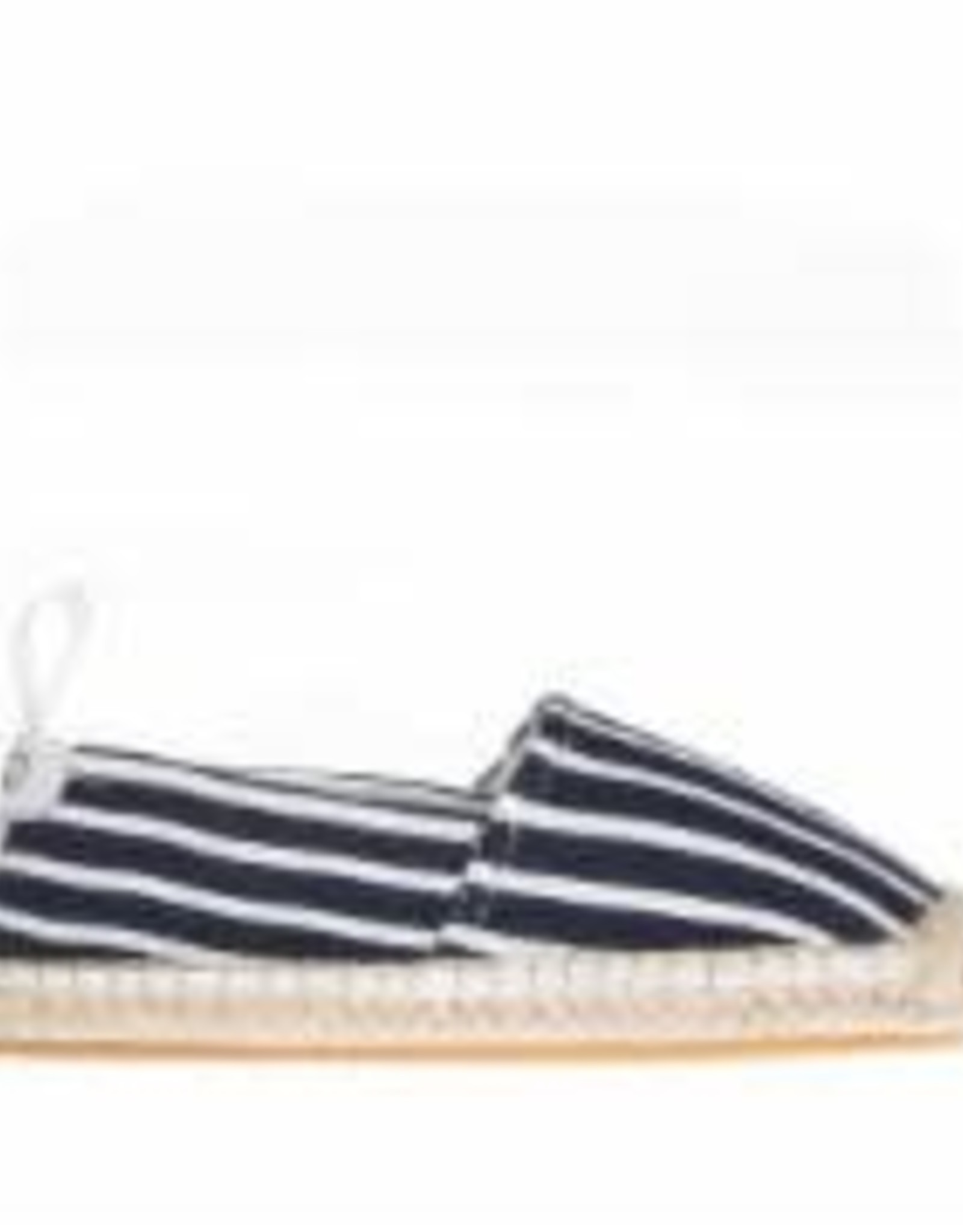 Akid Elle navy striped slip-on
