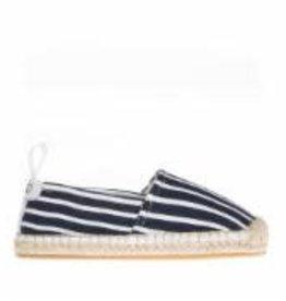 Chaussures marine rayées Elle
