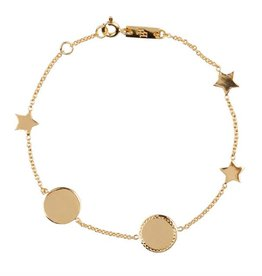 "Lennebelle ""You are my sun my moon and all my stars"" Miss Universe mother bracelet"