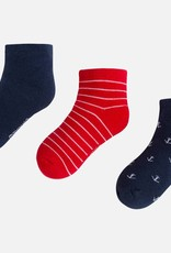 Set of 3 socks, 3 colors