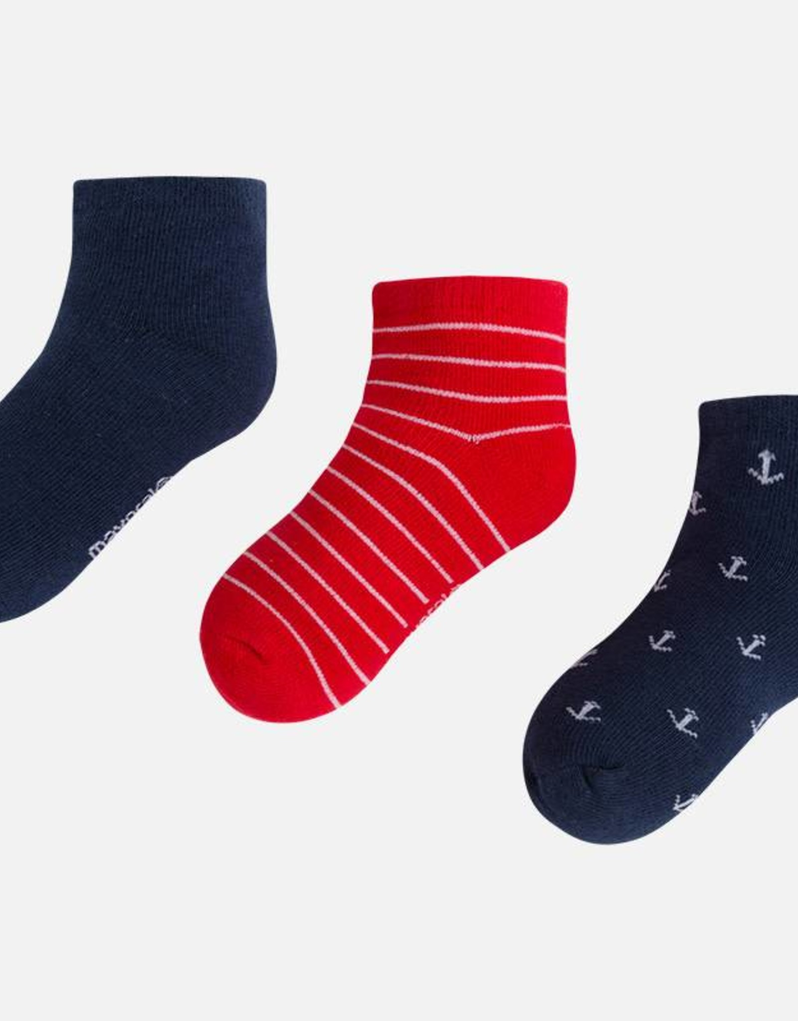 Mayoral Set of 3 socks, 3 colors