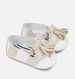 Chaussures slippers nougat