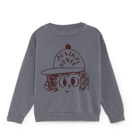 """Always never"" sweater"