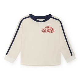 """""""Happy sads"""" t-shirt with buttons"""
