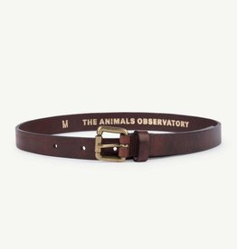 Ibis leather belt