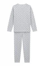 Pajamas, printed anchors