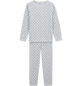 Pajamas, printed anchors