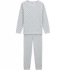 Petit Bateau  Pajamas, printed anchors