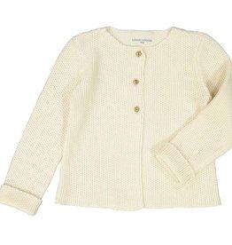 Little gold lurex cardigan
