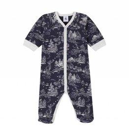 Pyjama pour bébé, imprimé forêt