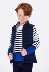 Padded sleeveless jacket