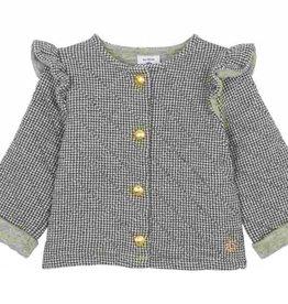 Baby ruffle cardigan