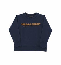 """The day market"" graphic sweatshirt"