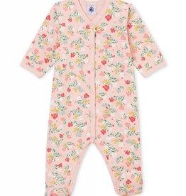 Pyjama pour bébé, imprimé fleurs